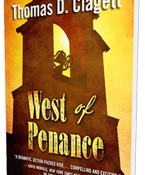 """West of Penance,"" has been selected as a finalist for a Will Rogers Medallion Award"