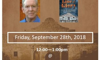 Author Talk:  The Alamo as Historical fiction – with Thomas D. Clagett