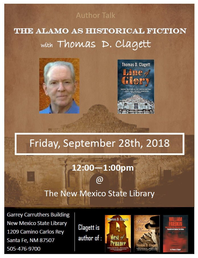Author Talk - Thomas D Clagett