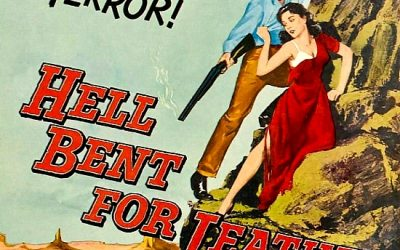 WESTERN NIGHT AT THE MOVIES: HELL BENT FOR LEATHER (**)