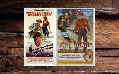 WESTERN NIGHT AT THE MOVIES: BAD DAY AT BLACK ROCK (*** 1/2)