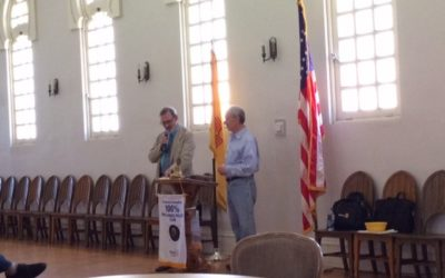 SPEAKING ABOUT THE ALAMO AT THE ROTARY CLUB OF SANTA FE