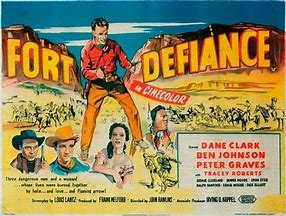 WESTERN NIGHT AT THE MOVIES: FORT DEFIANCE (**1/2)